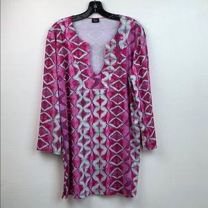 Love the journey tie dye Coachella dress cover up